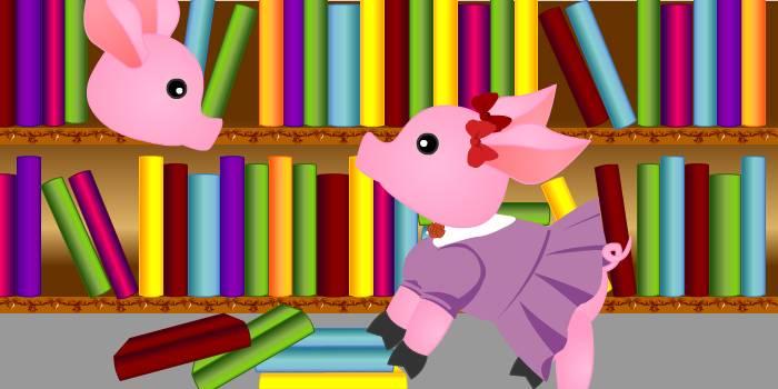 Знакомство в библиотеке