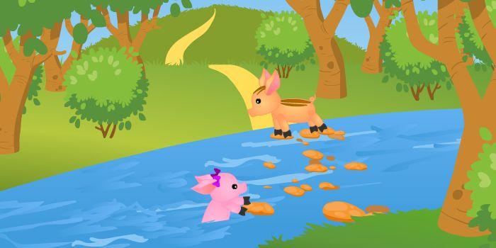 Гузель упала в реку