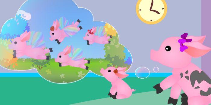 летающие свинки