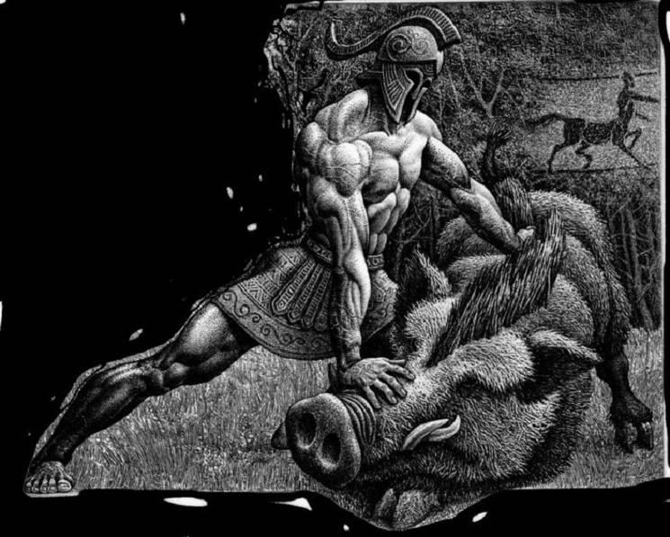 Кабан и герой