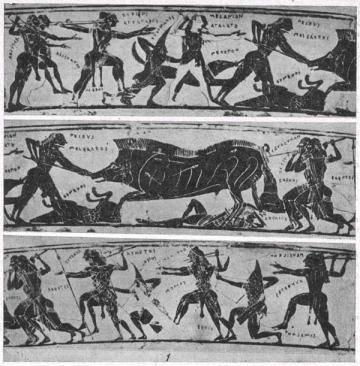 Свиньи в древней мифологии